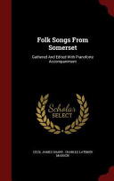 Folk Songs from Somerset Book
