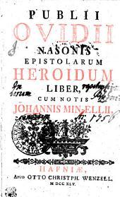 Publii Ovidii Nasonis Epistolarum Heroidum liber