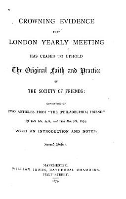 Crowning Evidence that London Yearly Meeting