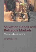 Salvation Goods and Religious Markets PDF