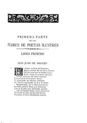 Flores de poetas ilustres de España ...