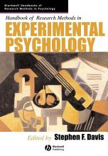 Handbook of Research Methods in Experimental Psychology PDF