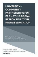 University Community Partnerships for Promoting Social Responsibility in Higher Education PDF