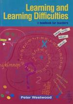 Learning and Learning Difficulties