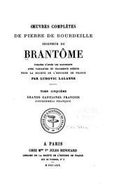 Oeuvres completes de Pierre de Bourdeille: Volume5
