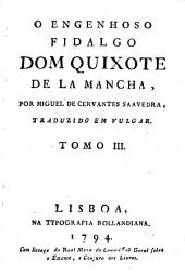 O engenhoso fidalgo dom Quixote de la Mancha: Volume 3