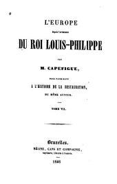 L'Europe depuis l'avénement du roi Louis-Philippe: Volumes7à8