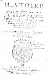 Histoire et Antiquités du pais de Beauvaisis