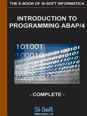 Introduction to Programming Abap/4 - Complete