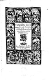Die gantze Bibel der vrsprünglichen Ebraischen vnd Griechischen Waarheyt nach verteutschet: Band 1