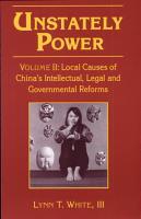 Unstately Power PDF