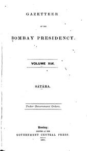 Gazetteer of the Bombay Presidency ...: Volume 19