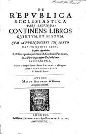 Continens libros quintum, et sextum. Cum appendicibus in sexto capite quinti libri ... Additur in fine ... Responsio ad magnam partem defensionis fidei P. Francisci Suarez: 2