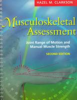 Musculoskeletal Assessment PDF