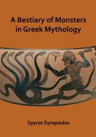 A Bestiary of Monsters in Greek Mythology PDF