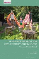 Feminist Research for 21st century Childhoods PDF
