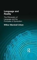 Language and Reality PDF