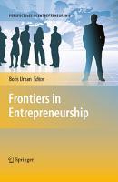 Frontiers in Entrepreneurship PDF