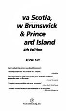 Frommer s Nova Scotia  New Brunswick   Prince Edward Island PDF