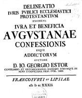 Delineatio iuris publici ecclesiastici protestantium exhibens iura et beneficia Augustanae Confessionis eique addictorum