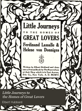Little Journeys to the Homes of ...