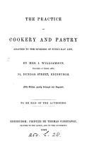 The practice of cookery and pastry PDF