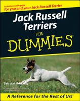 Jack Russell Terriers For Dummies PDF