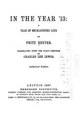 In the Year '13: A Tale of Mecklenburg Life, Volume 4