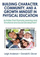Building Character  Community  and a Growth Mindset in Physical Education PDF