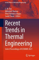 Recent Trends in Thermal Engineering