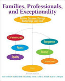 Families  Professionals  and Exceptionality Book