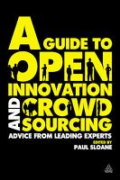 A Guide to Open Innovation and Crowdsourcing PDF