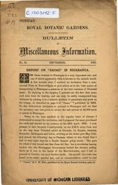 Bulletin of Miscellaneous Information: Volume 1, Issue 19