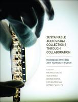 Sustainable Audiovisual Collections Through Collaboration PDF