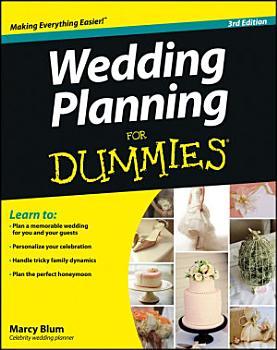 Wedding Planning For Dummies PDF