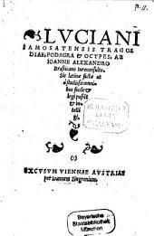 Tragoedia, Podagra et Ocypes