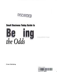 Small Business Today Guide to Beating the Odds