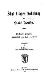 Statistisches jahrbuch der stadt Berlin: Band 15