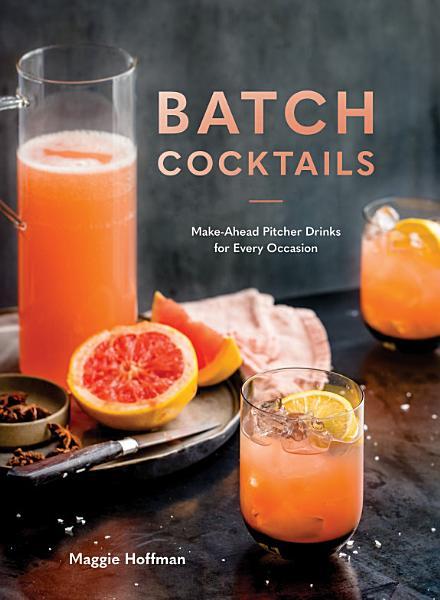 Download Batch Cocktails Book