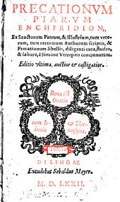 Precationum Piarum Enchiridion