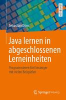 Java lernen in abgeschlossenen Lerneinheiten PDF