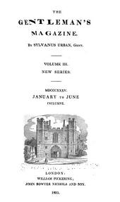 The Gentleman's Magazine, and Historical Chronicle, for the Year ...: Volume 157