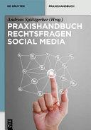 Praxishandbuch Rechtsfragen Social Media PDF