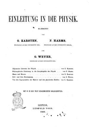 Allgemeine Encyklopadie der Physik bearbeitet von P  W  Brix      et al   PDF