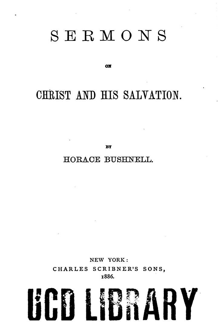 Sermons on Christ and Salvation