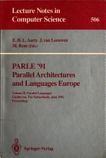 PARLE  91  Parallel languages PDF