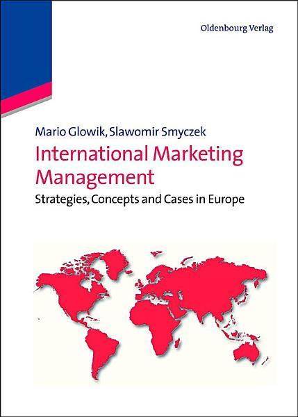 International Marketing Management Pdf Book