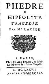 Phedre & Hippolyte: Tragedie