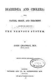 Diarrhœa and cholera