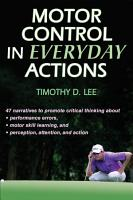 Motor Control in Everyday Actions PDF